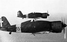 G-50 fighters in flight near Martuba, Libya, 1941 - pin by Paolo Marzioli
