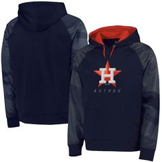 Houston Astros Majestic Big & Tall New Armour Performance Hoodie - Navy - $79.99