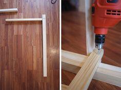 DIY: Bancos de pino