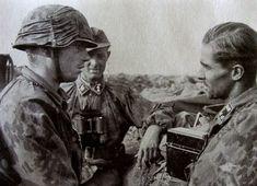 Werner Wolff & Jochen Peiper at Kursk battle, june-july1943.