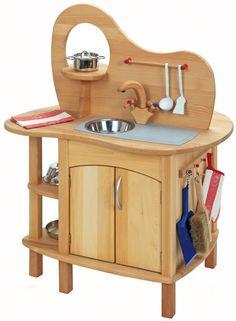 Gluckskafer Toys Wooden Play Kitchen