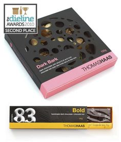 The Dieline Awards: Second Place - Food C - Thomas Haas Chocolates