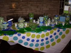 My candy buffet at my reception party! :)