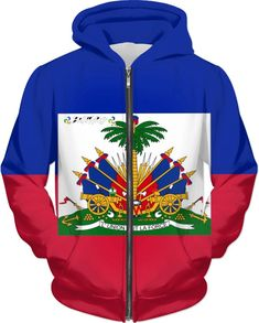 Feel the rhythm with this Haitian Flag Hoodie. Get it while supplies last Haitian Flag, Passion, Christian, Hoodies, Clothing, Products, Outfits, Sweatshirts, Parka