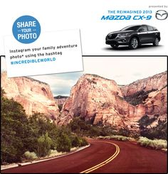 Enter to win the Incredible Utah Adventure Giveaway from the Mazda CX-9 and Travel & Leisure | Stuart Powell Ford Lincoln Mazda