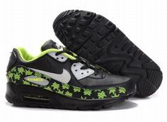 https://www.kengriffeyshoes.com/nike-air-max-90-black-light-green-maple-leaves-p-723.html Only$70.96 #NIKE AIR MAX 90 BLACK LIGHT GREEN MAPLE LEAVES #Free #Shipping!