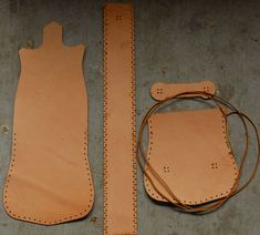 Simple Leather Purse : 11 Steps (with Pictures) - Instructables Leather Pouch, Leather Tooling, Leather Purses, Leather Handbags, Leather Purse Diy, Leather Craft, Leather Bag Pattern, Sewing Leather, Crea Cuir