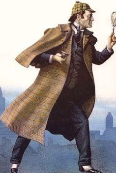 Sherlock Holmes - A great illustration