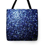 Beautiful Dark Blue Glitter Sparkles Tote Bag by #PLdesign #sparkles #BlueSparkles #SparklesGift #pixels