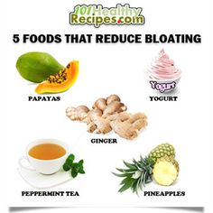 5  Foods That Reduce Bloating