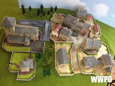 European Town Terrain Base by Crescent Root ~ WWPD: Your Source For All Things Flames of War!