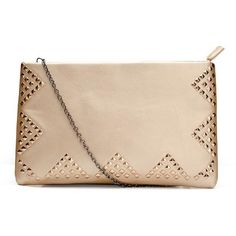 Fashion Elegant Women Envelope Bags Clutch Bags Rivets Evening Bags ($3) ❤ liked on Polyvore featuring bags, handbags and clutches