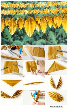 #diy #tropical #guirland Plus
