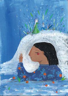 De las canciones de Natacha by Valeria Reynoso, via Behance