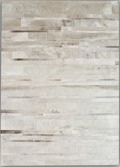 Grey Stripes Natural Cowhide Rug from the Cowhide Rugs collection at Modern Area Rugs  $3124  for 9 X 12