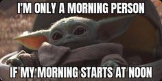 Love Memes, Funny Memes, Yoda Meme, Star Wars Party, Make Me Smile, Minions, I Laughed, Nerd, Mandalorian