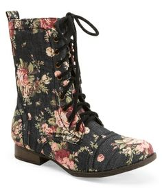 Printed Combat Boot from Aeropostale