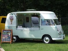 Never seen a Vw ice cream truck- I could convert this to a donut truck!