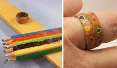 Colored Pencil Ring
