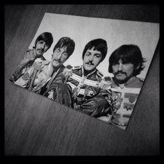 Ringo, John, Paul and George