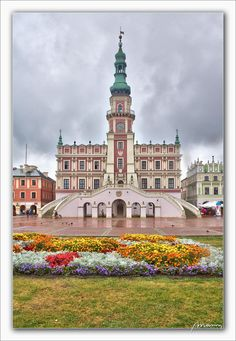 Zamosc-0342 | by massonth The Beautiful Country, Beautiful Places, Poland History, Visit Poland, Heart Of Europe, Loft Design, A Whole New World, Central Europe, Historical Architecture