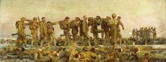 Gassed, 1918, John Singer Sargent Size: 231x611 cm