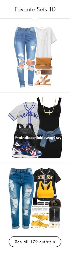 """""""Favorite Sets 10"""" by fingerfckmyswag ❤ liked on Polyvore featuring ALDO, Uniqlo, Jason Wu, Dogeared, Topshop, Apt. 9, Michael Kors, DKNY, adidas Originals and Reeds Jewelers"""