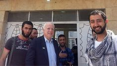 Sangster's Thoughts on McCain Spending Memorial Day With Syria's Rebels
