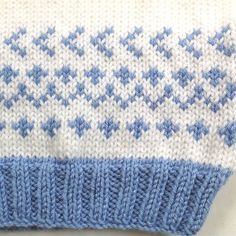 Fair Isle baby sweater - 6 to 12 months - Baby shower gift - Infant hand knit pullover - Baby girl sweater - Baby boy sweater Fair Isle Babypullover 6 bis 12 Monate Baby von LurayKnitwear Cardigan Bebe, Crochet Baby Cardigan, Baby Girl Crochet, Hat Crochet, Free Crochet, Crochet Pattern, Motif Fair Isle, Fair Isle Pattern, Baby Girl Sweaters