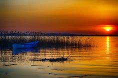 Gölyazı'da gün batımı...  Merve Önder