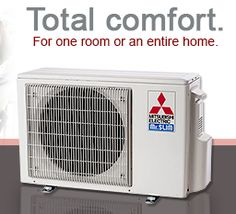 Mitsubishi ductless condenser replacing an old and