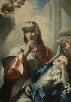 St Anne and the Young Virgin