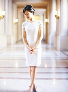 Short Casual Bridal Dress