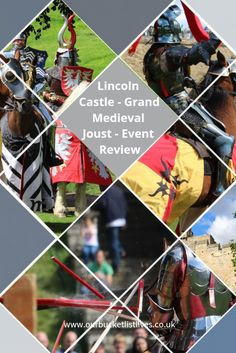 Lincoln castle, Grand medieval joust. Event review. Jousting