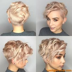 50 Messy Haircuts for Fine Hair, Short messy pixie hair appears gorgeous . - 50 Messy Haircuts for Fine Hair, Short messy pixie hair appears gorgeous whenever the locks - Messy Pixie Haircut, Short Pixie Haircuts, Messy Short Hair Cuts, Super Short Hair Cuts, Fine Hair Pixie Cut, Curled Pixie Cut, Pixie Haircut Color, Blonde Pixie Haircut, Blonde Pixie Cuts