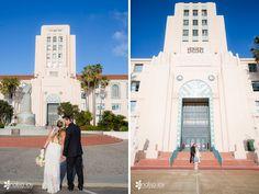 Wedding: Knute & Jessica | San Diego Courthouse, CA | Analisa Joy Photography | San Diego, CA Photographer » Analisa Joy Photography