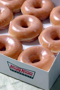 KRISPY KREME doughnuts copy cat recipe ... Light & AIR-Y like the real thing! ...VIDEO how-to LINK... http://www.foodista.com/blog/2013/05/12/copycat-recipes-krispy-kreme-glazed-doughnuts