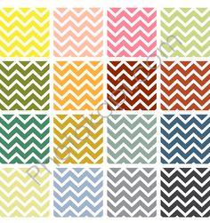 Free Printable Chevron Patterns