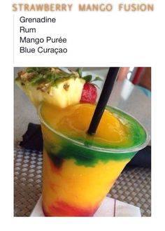 STRAWBERRY MANGO FUSION by Tipsy Bartender
