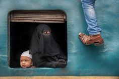 Yuet Yee Wong: Bangladesh train station