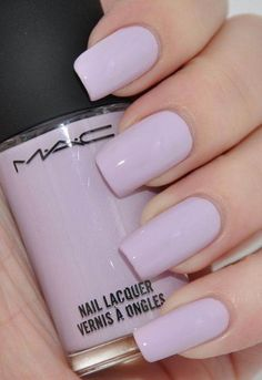 Here are five different nail shapes and and a few color ideas for spring!