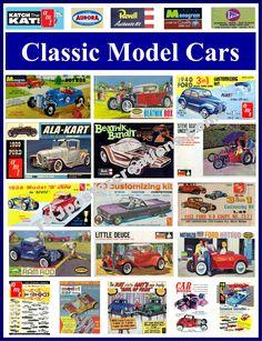 Classic Model Car Kits poster