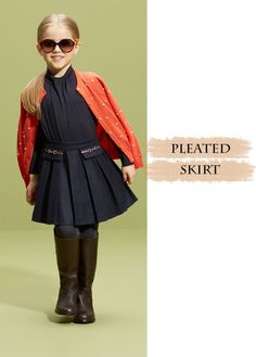 Dress your little girls with style. #Fashion #Girls #Children #Clothes