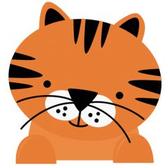 Tiger SVG files for cutting machines tiger svg cut file tiger svgs cute files for scrapbooking