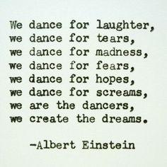 ALBERT EINSTEIN Hand Typed Quote Made with Vintage Typewriter Albert Einstein Quote dance moms dance moms dances, dance mom funnies Favorite Quotes, Best Quotes, Life Quotes, Happy Quotes, Quotes Quotes, Passion Quotes, People Quotes, Lyric Quotes, Family Quotes