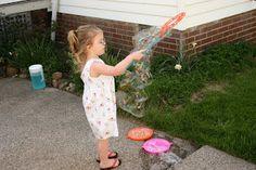 Sparkle Power!: Homemade Bubbles