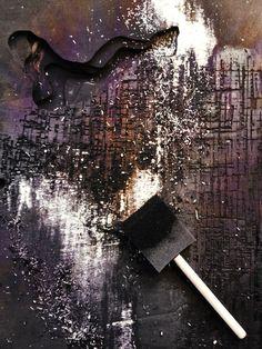 Making a burned landscape. By Helle Bendixen and Ingrid Roede