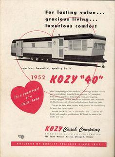 Kozy Vintage Trailers | Uploaded to Pinterest