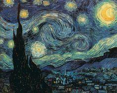Vincent van Gogh--Starry Night