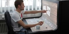 Multi touch Desk (Prototype made in Germany)